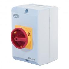 100A IP65 55kW Rotary Isolator Switch – 4 Pole 415V