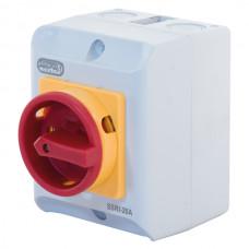 20A IP65 55kW Rotary Isolator Switch – 4 Pole 415V