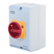 40A IP65 55kW Rotary Isolator Switch – 4 Pole 415V