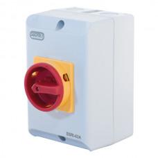 63A IP65 55kW Rotary Isolator Switch – 4 Pole 415V