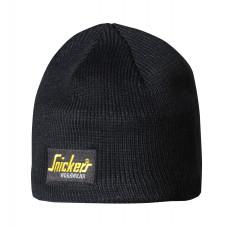 Snickers Beanie Hat Logo Black 9084