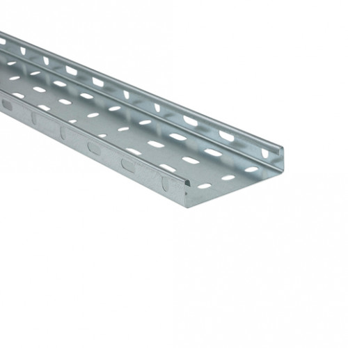Pre-Galvanised Medium Duty Cable Tray 100mm x 3m UNITRUNK (LOCAL DELIVERY)