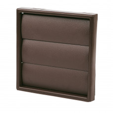 """4"""" Gravity Grill Brown 100mm"""