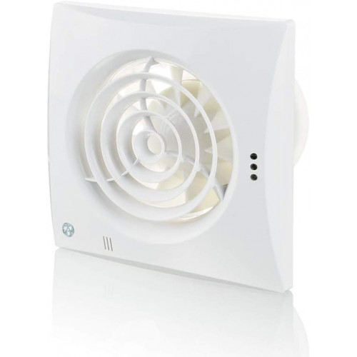 Blauberg 100mm Humidistat Fan White 25Db