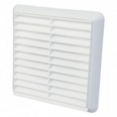 """4"""" Fixed Grill White 100mm"""