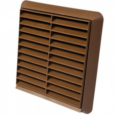 """4"""" Fixed Grill Brown 100mm"""