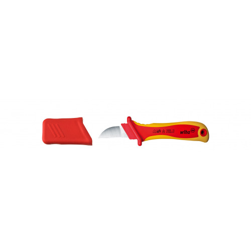 Wiha VDE Electrician Insulated Cable Stripping Tool 200mm Non Rust Steel