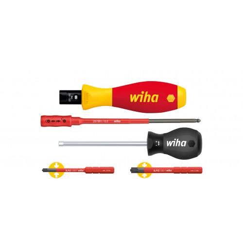 Wiha 38074 Vde Torque S/Drv Set 5 Piece