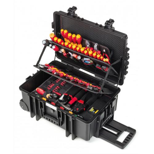 Wiha Competence XXL II Electrician's 115 Piece Tool Box 42069