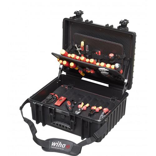 Wiha Competence XL Electrician's 80 Piece Tool Box 40523