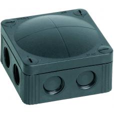 WISKA COMBI 85X85 IP66 BLACK JUNCTION BOX