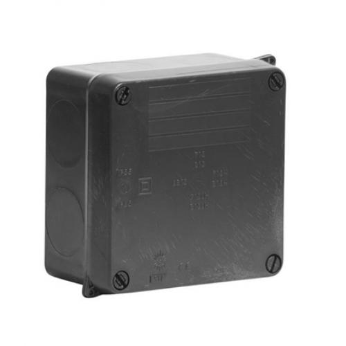 WISKA 815N IP65 BLACK SEALED ADAPTABLE BOX WIB1